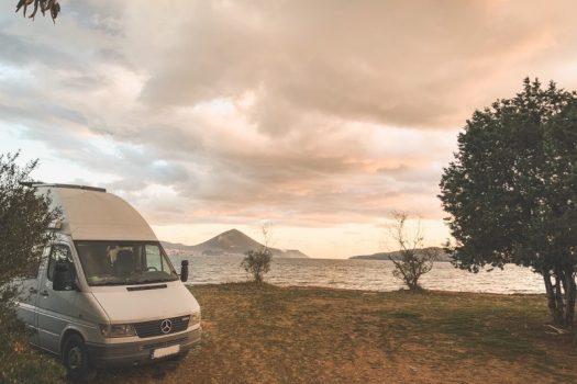 Sandbleche Campervan