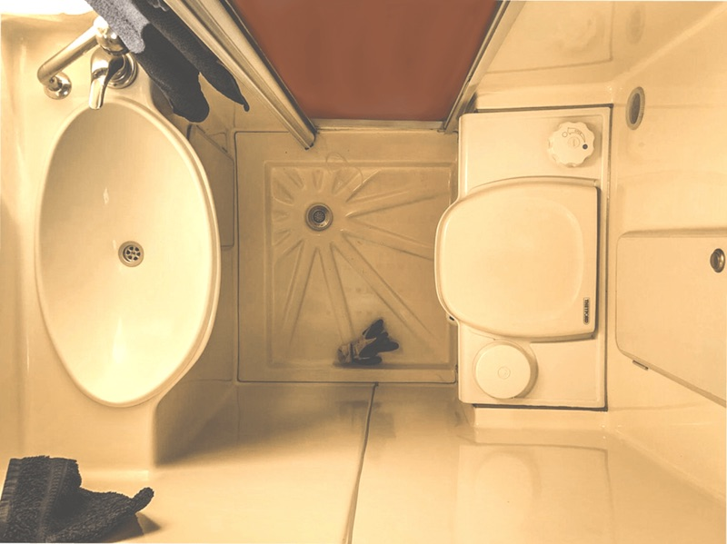 Trockentrenntoilette im Wohnmobil