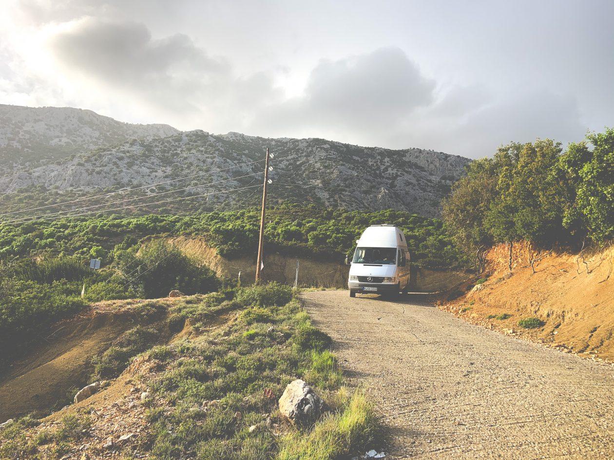 Wildcampen Wohnmobil Griechenland