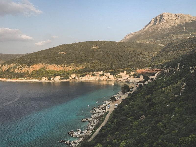Wildcampen Griechenland Limeni