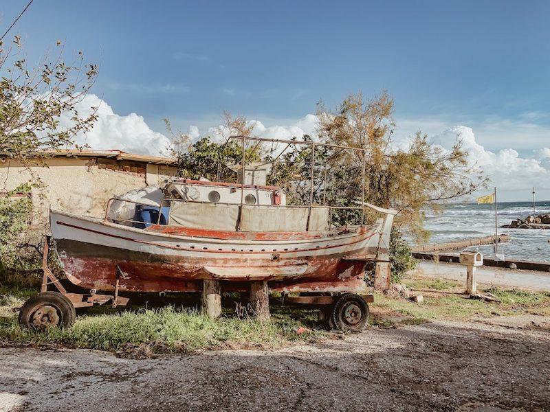 Lockdown Griechenland Ionion Beach