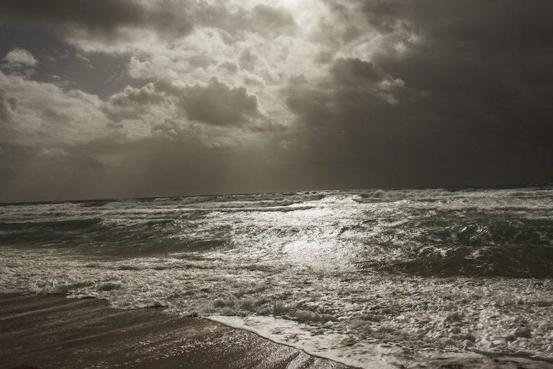 Lockdown in Griechenland Ionion Beach