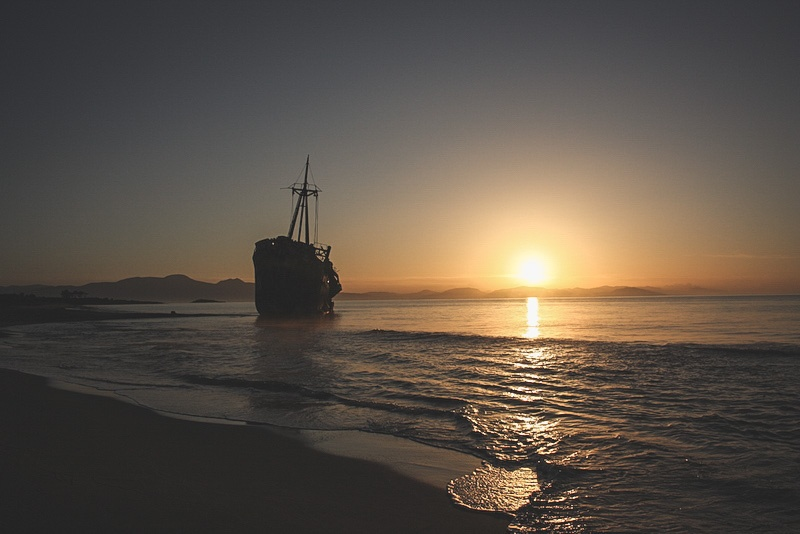 Schiffswrack Dimitrios
