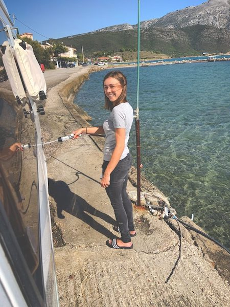 Wildcampen in Griechenland