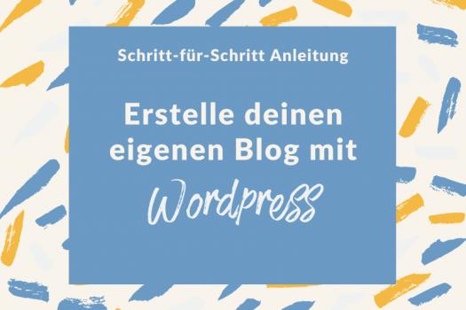 Blog mit Wordpress erstellen