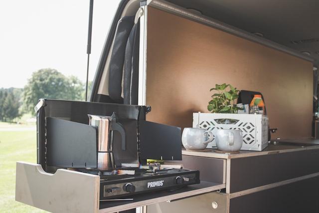 Camper Ausbau Modul Good Life Vans Küche