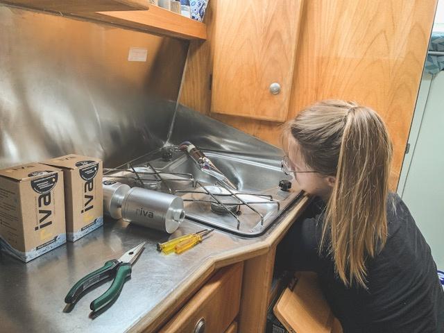 Wasserfilter fürs Wohnmobil, Riva Wasserfilter im Wohnmobil