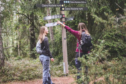 Rundwanderwege in Schweden