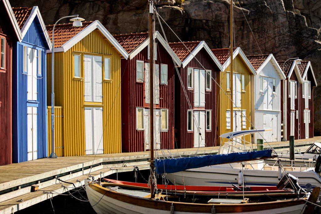 Rundreise mit dem Wohnmobil durch Schweden - Smögen